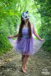 Fox Skull Mask - Lilac