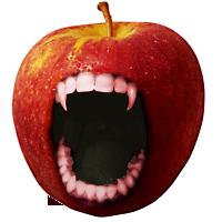 Vampire apple by Koddo