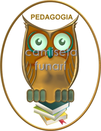 simbolo coruja pedagogia 3d by camiseta-funari