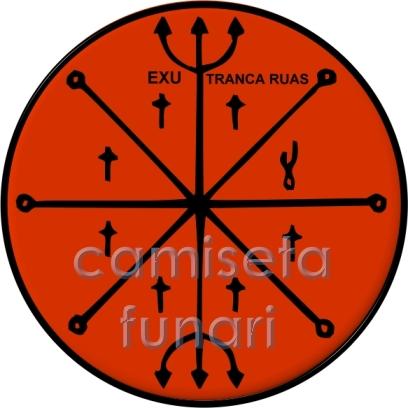 ponto riscado exu TRANCA RUA 1 by camiseta-funari