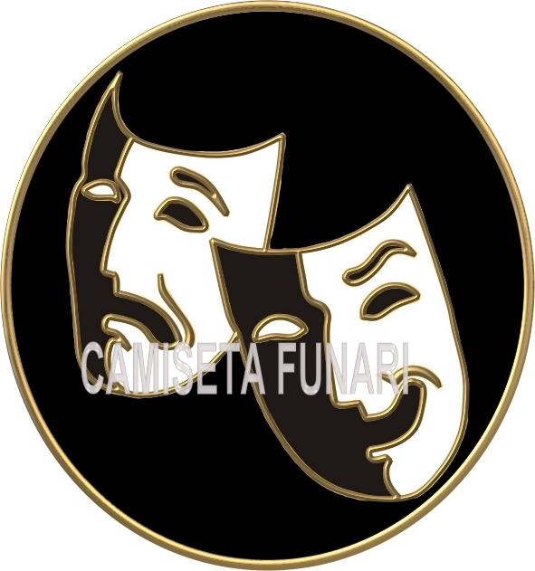 simbolo viva o teatro desenho by camiseta-funari