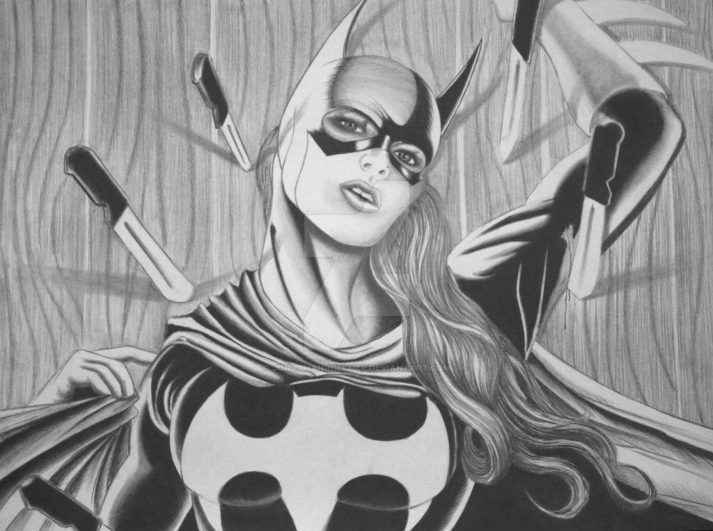 Batgirl by jonathan-hillmer