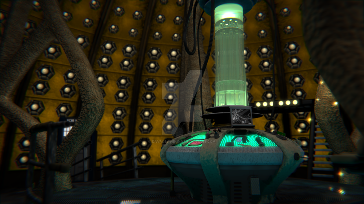 9th 10th Doctor S Tardis Interior By Davros The 2nd On