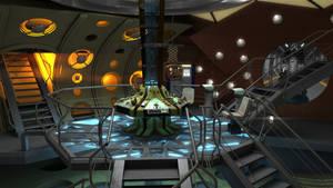11th Doctor (Matt Smith) TARDIS interior