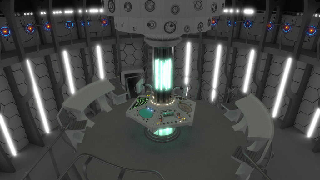 Matt Smiths New Tardis (WIP) by Davros-the-2nd