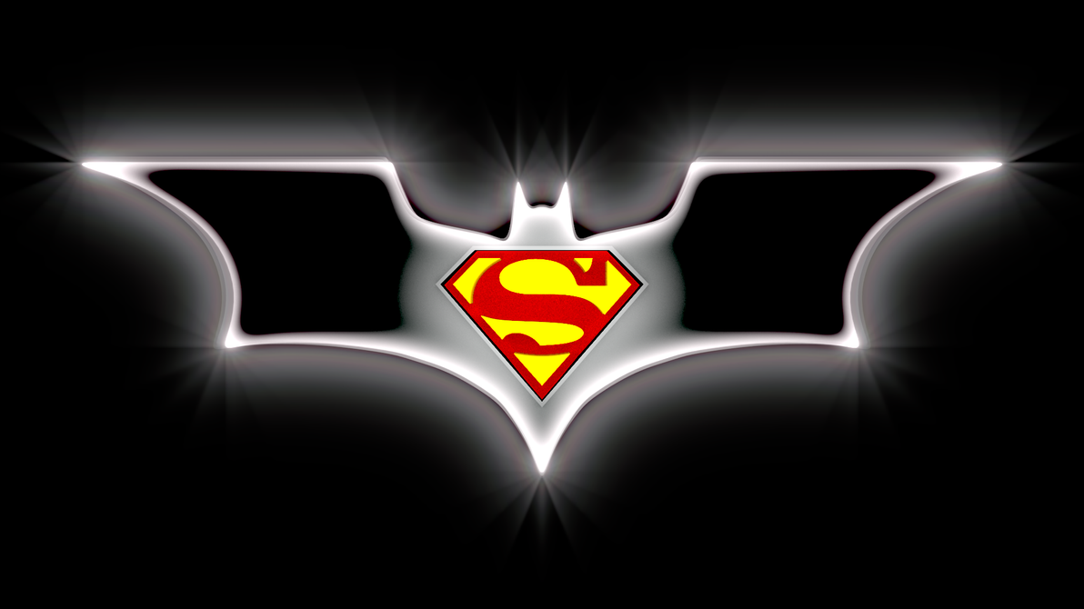 Batman And Superman Logo By Davros The 2nd On Deviantart