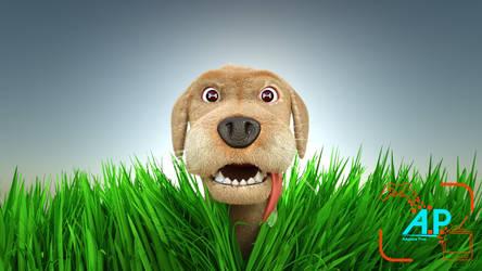 Weekend Challenge 30 - Boney Dog by Davros-the-2nd