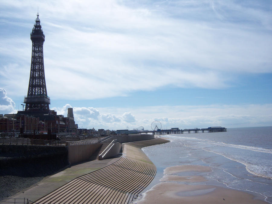 Blackpool Sea Front By Rh281285 On DeviantArt