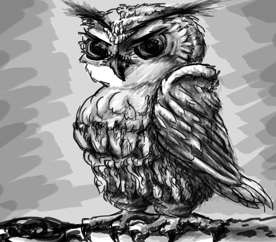 Owly by AnakMoon