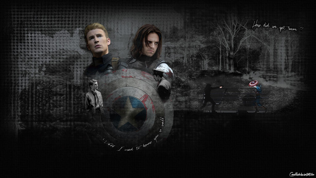 The Winter Soldier: Steve and Bucky by Camellieb on DeviantArt