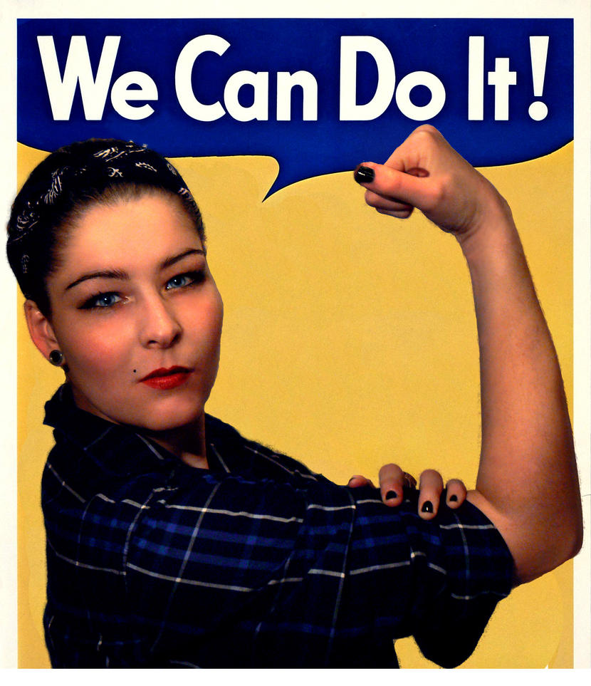 We Can Do It by Tattotte