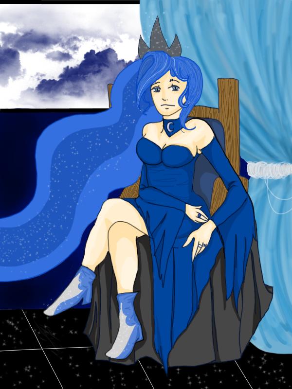 Princess Luna by Pegabracorn