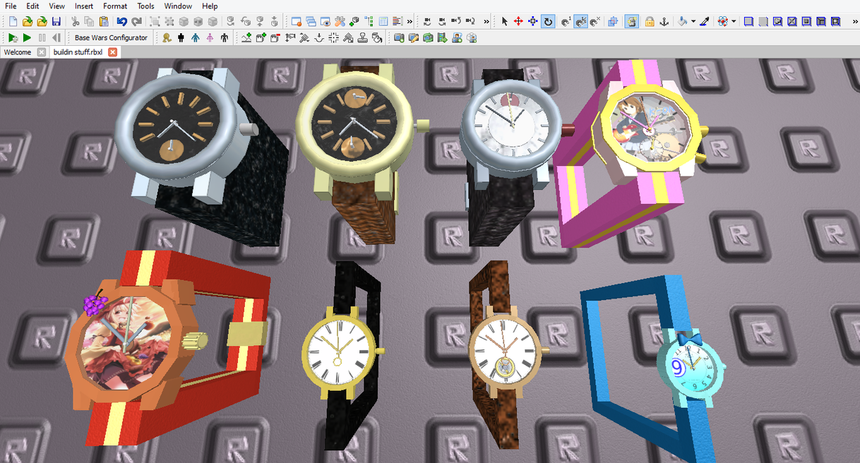 [ROBLOX] Watch size comparison and/or evolution by GiromCalica