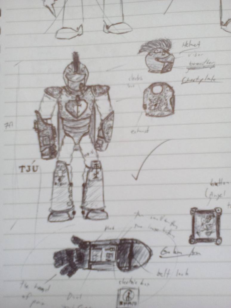 Exosuit design mk1 by GiromCalica
