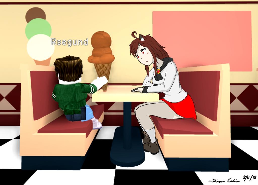 [CSP] Meep City ice cream date by GiromCalica