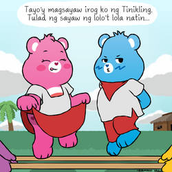 Care Bears Tinikling