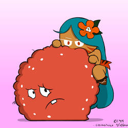 tiger lily cookie eating meatwad