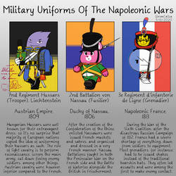 Military Uniforms Of The Napoleonic Wars
