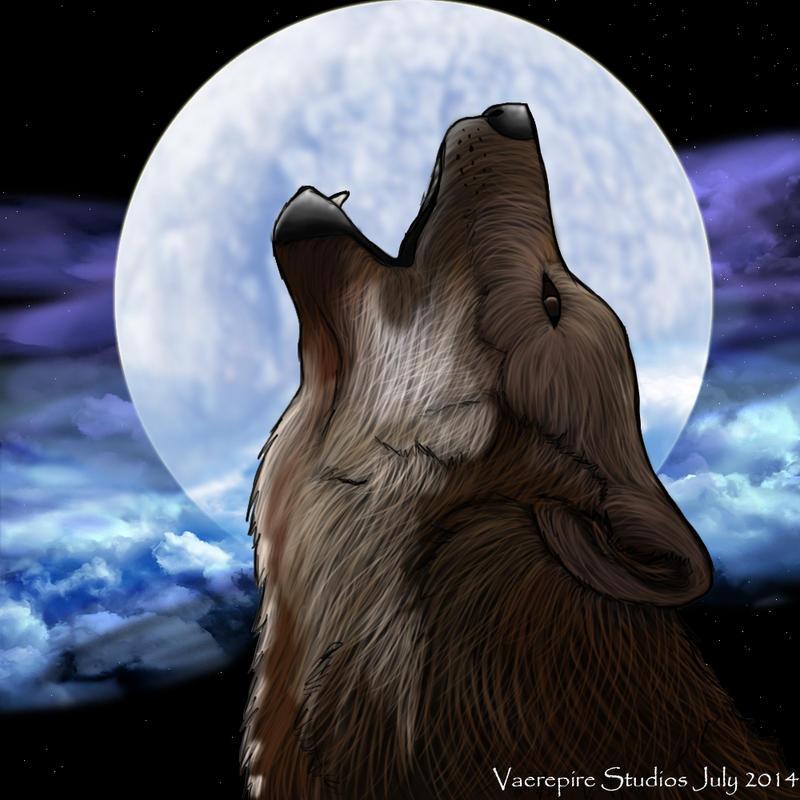 Howling Wolf by VaerepireStudios