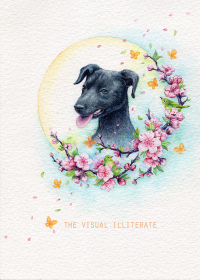 Pet Portrait Commission by thevisualilliterate