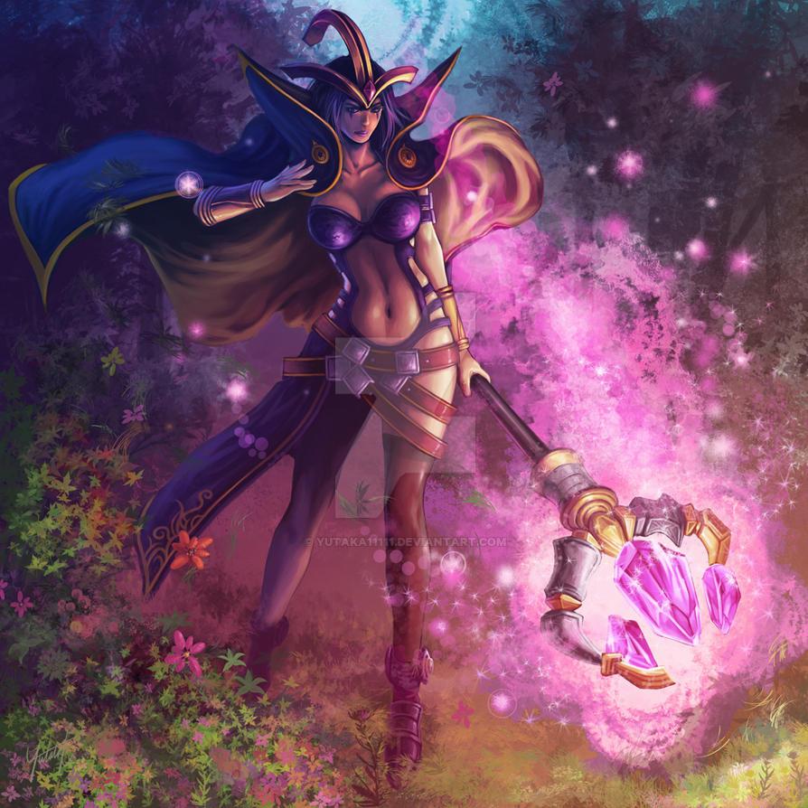 Fan art ~ League of legends : LeBlanc by yutaka11111