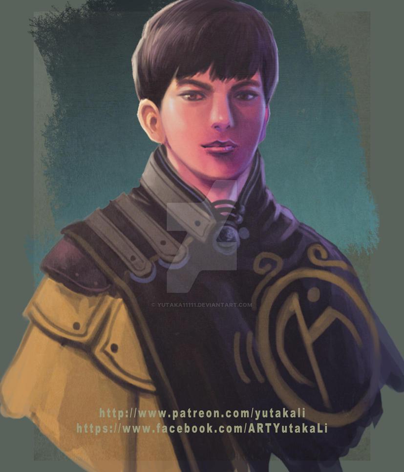 Character #8 ~ Alfred by yutaka11111