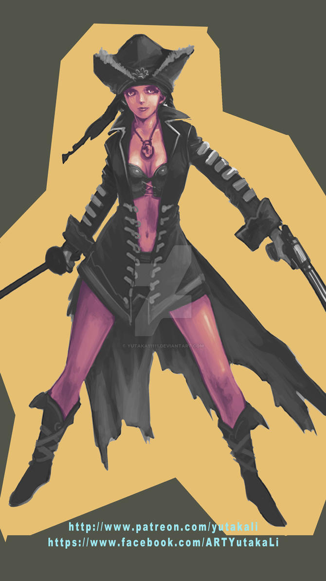 female pirate - Anna by yutaka11111