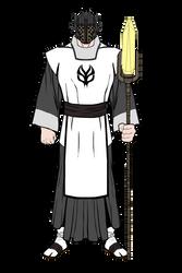 Jokai Satoru, Master of the Hunter Priest by Flamereaper0001