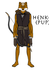 The Original Design of Young Henkei by Flamereaper0001