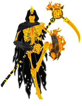 [Icon Made Character] - The Flame Reaper