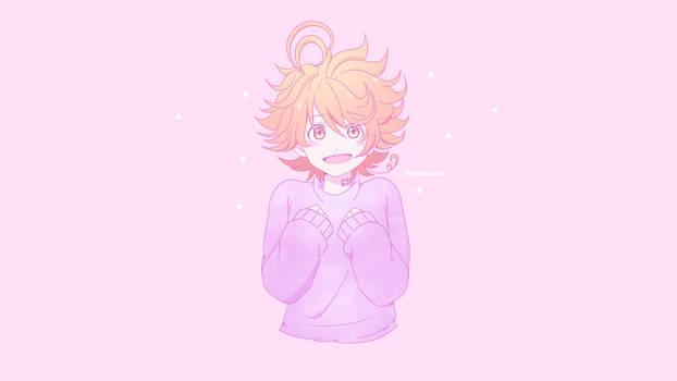 Feels like galaxy -  Emma TPN Wallpaper by Akumarou
