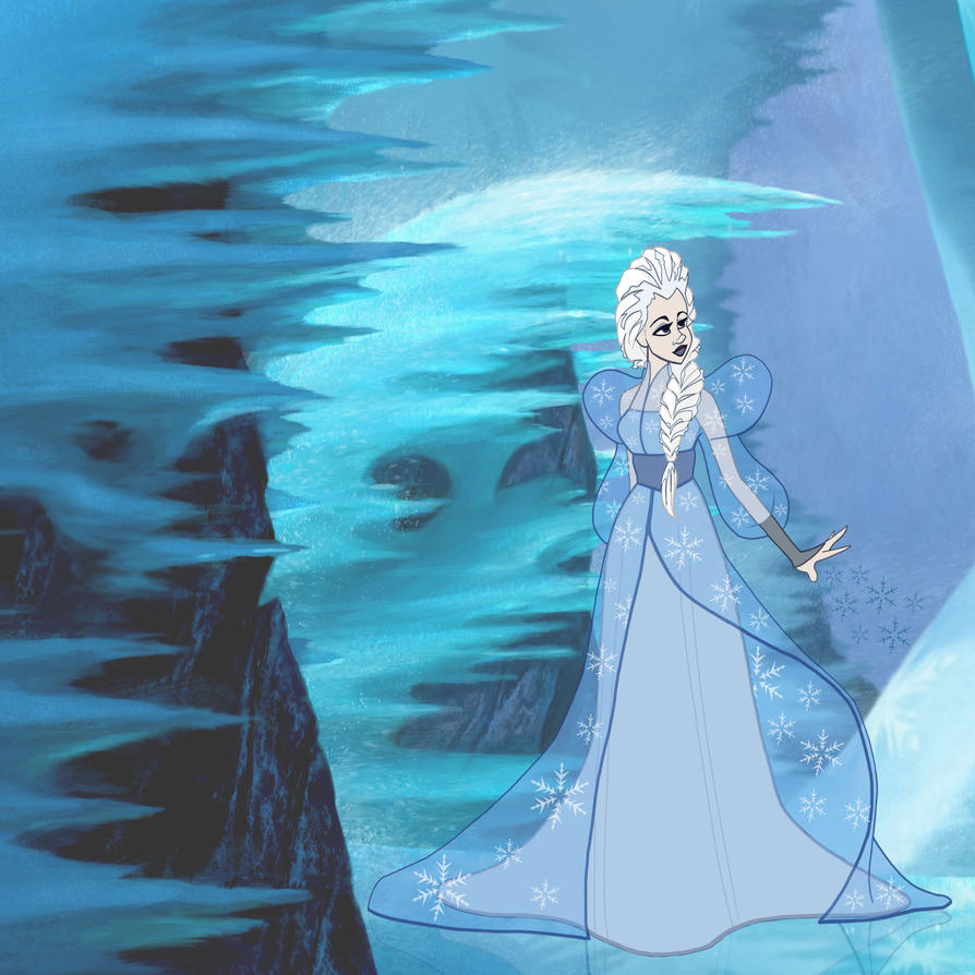 Disney's Frozen Elsa the snow queen by Emmi-Lou-Art on ...