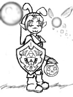 Halloween Link by bluewolf319