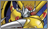 WarGreymon Stamp by blackdragongal