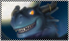 Blue Dragon Stamp by blackdragongal