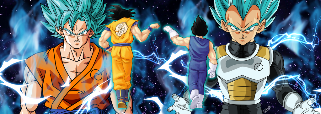 Dbz Dual Screen Wallpapers