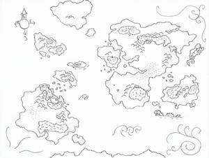 Pangaia map of Durandal Saga 'wip'