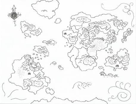 Pangaia Map of Durandal Saga 'wip' 2