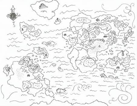 Pangaia Map of Durandal Saga 'wip' 3