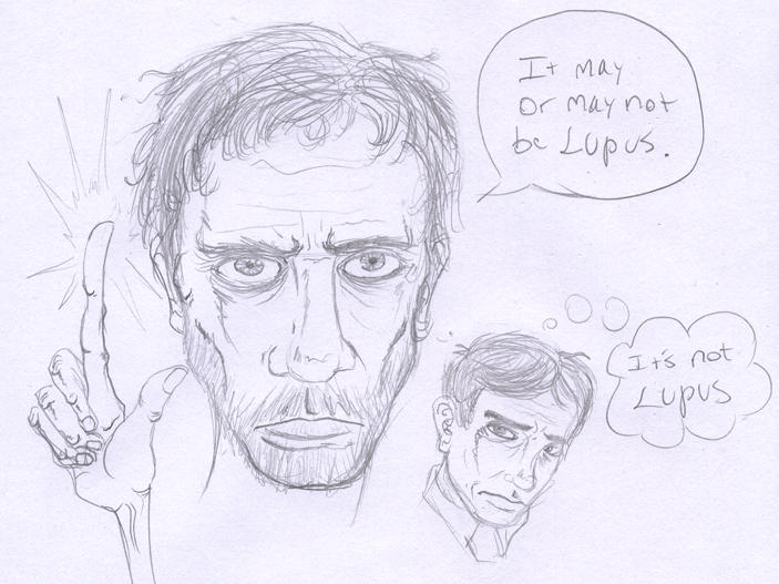 Quick Sketch: House, M.D.