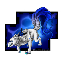 Watchers Request .:BlueDuskWolf:. by SilintWolf