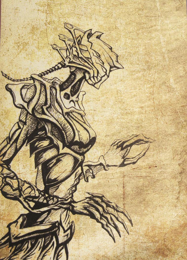 future warrior by Imago-De-Terra