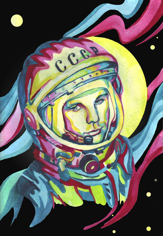 Juri Gagarin by Imago-De-Terra