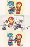 Baby Avengers: Bucky Bear Gets A New Arm