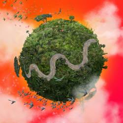 Global warming - Amazonia by guayasamin