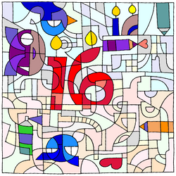 Happy B-Day, dA -- the first 16 years!