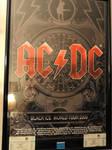 AC DC concert poster