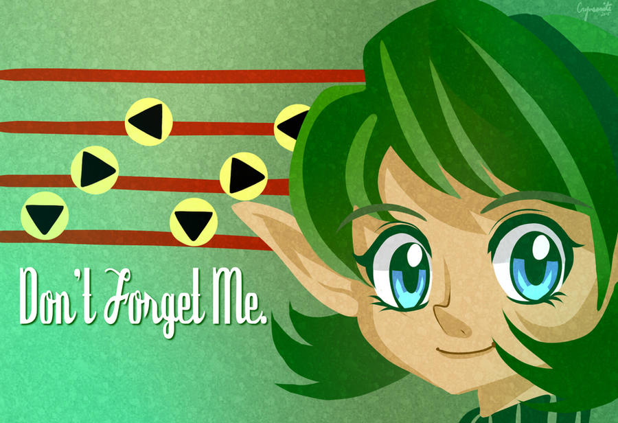 Zelda - Saria Wallpaper by Crymsonite