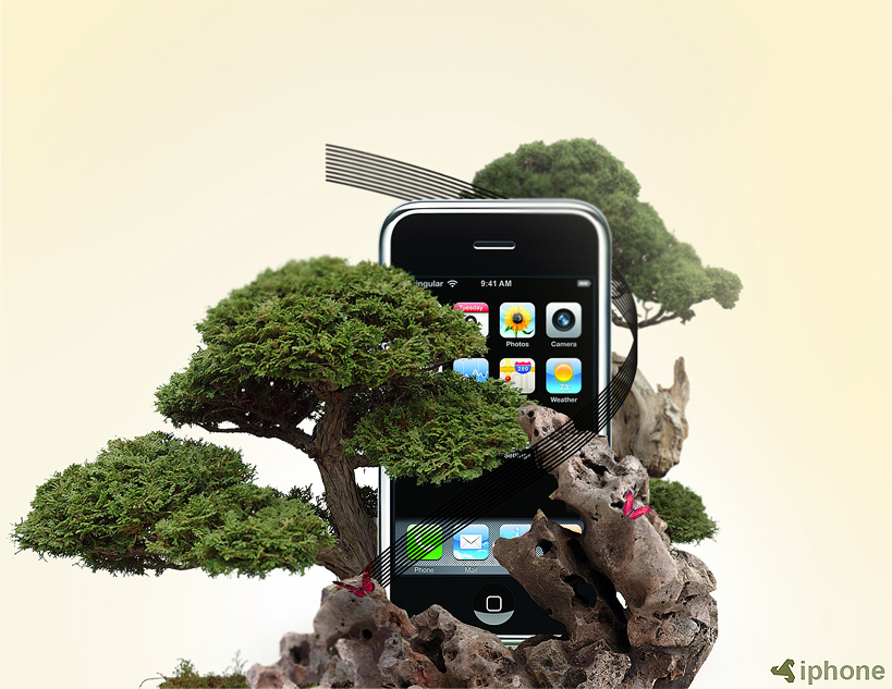 Iphone nature edition