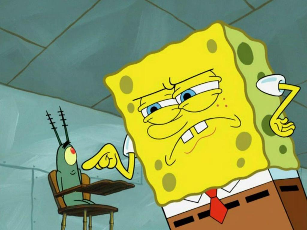 Animated gifs of SpongeBob SquarePants